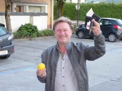 erster Zitronenempfänger