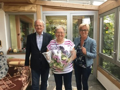 Lechleitner Wilhelmina / 80. Geb. Tag / 18.9.2019