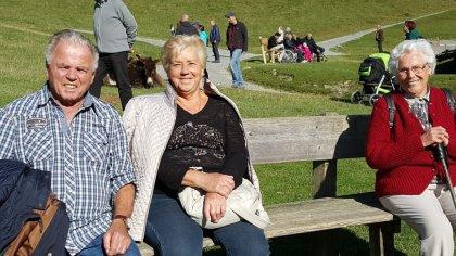 Steinlechner Frieda und Georg mit Woschitz Erna